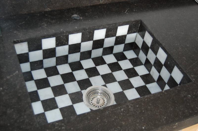Spoelbak Keuken Onderbouw : Aanrechtblad: spoelbak van natuursteen of niet?