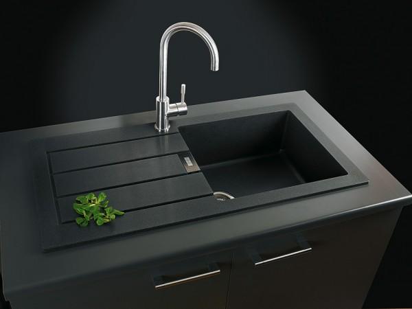 Franke Sirius Undermount Sink : Franke Sirius Sid 160 White Tectonite 1 5 Bowl Kitchen Undermount Sink ...