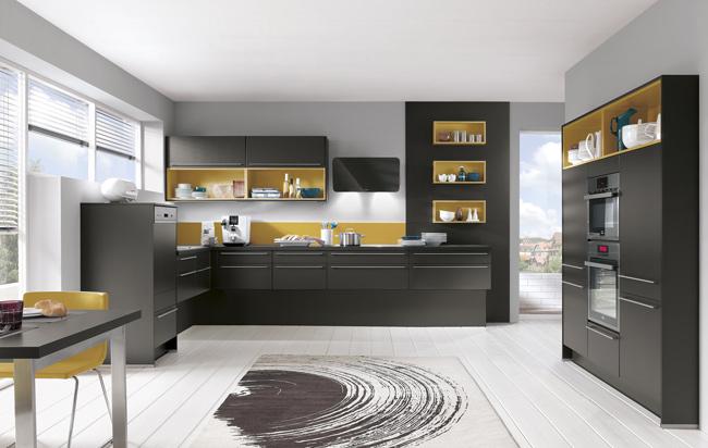 Zwarte keuken bespreekt de voordelen en nadelen - Keuken kleur ...