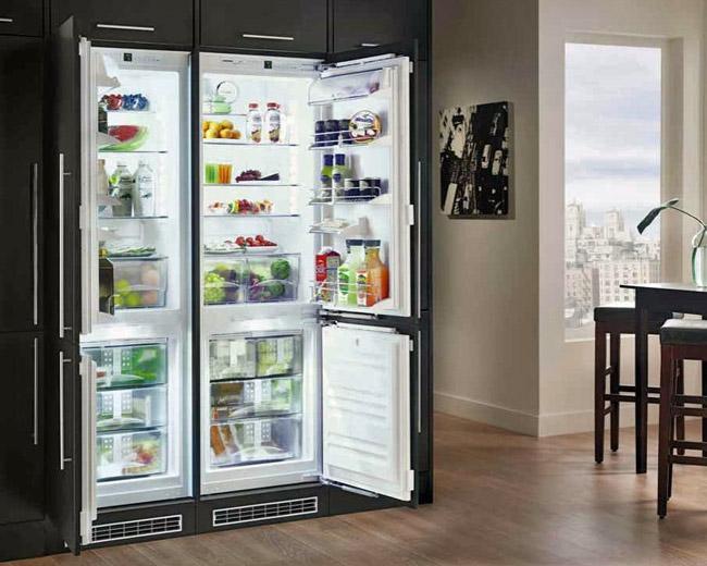 Keuken Met Amerikaanse Koelkast : Koelkast met 4 deuren? Alles over de ?Amerikaanse koelkast?