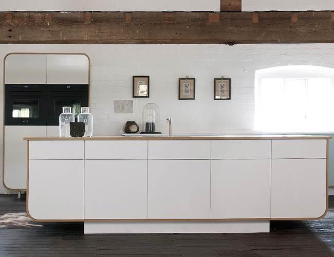 Retro keuken te koop oude kastgrepen boogvorm kleur retro keuken cubex te koop moderne retro - Vintage keukens ...