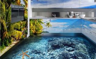 3D-tegels in je keuken