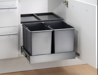 Afvalbak-keuken