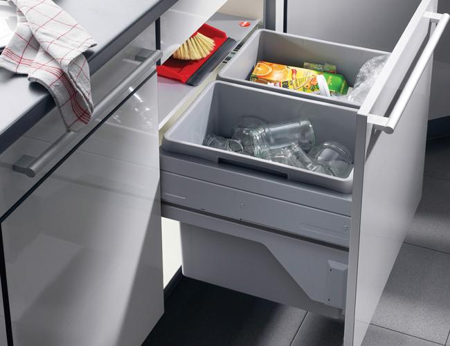 Keuken Afvalbak Inbouw : Afvalbak keuken: de handigste oplossingen
