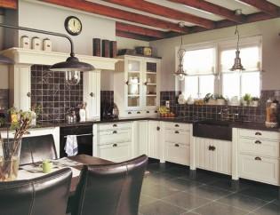 Keukenstijl ambachtelijke keukens