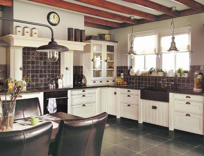 Welke keukenstijl past bij jou - Oude stijl keuken wastafel ...