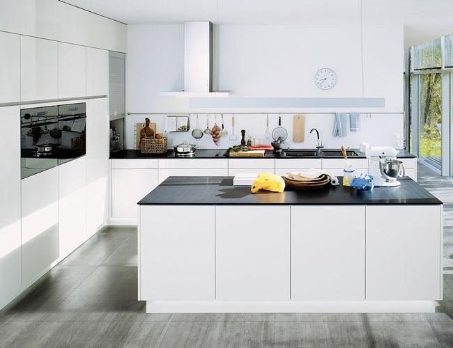 van de keuken welke kleur geef je keukenmuur. Welke kleur vloer bij ...