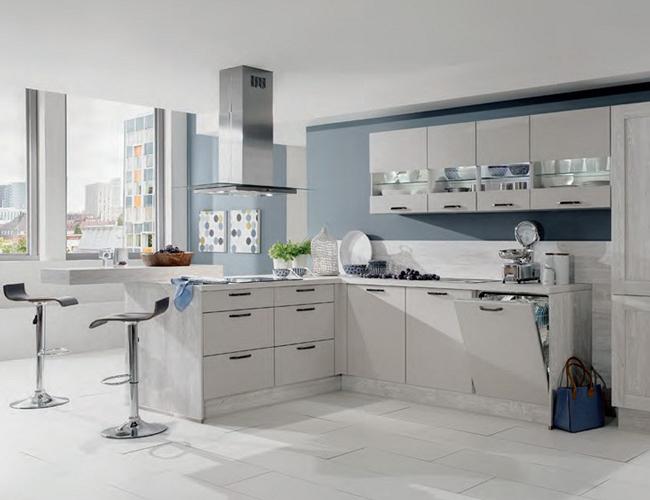 Schiereiland kleine keuken - Keuken kleine ruimte ...