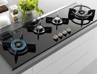 Gas-op-glas-kookplaat