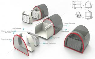 Future Connect: futuristisch modulair keukensysteem