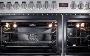 Fornuis met twee ovens