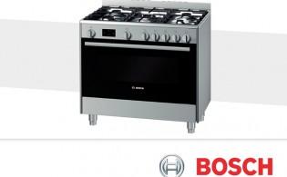 Bosch: elektrisch fornuis en keramisch fornuis