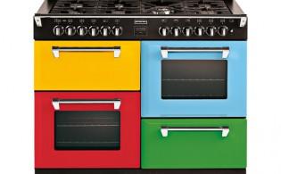 Fornuis met 4 ovens
