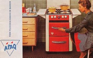 tweedehands keuken Atag-fornuis-retro