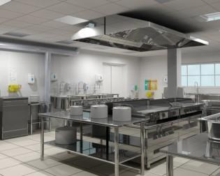 Bedrijfs-keukens-roestvrijstaal