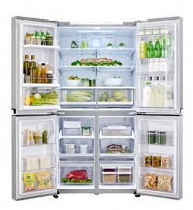 4-deurs-koelkast-in-gebruik