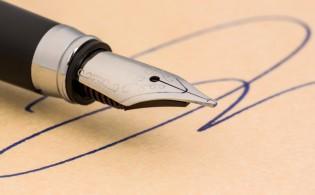 Kopers opgelet, een handtekening is bindend
