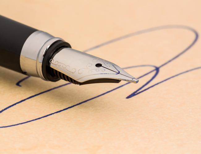 Kopers opgelet een handtekening is bindend keukenervaringen