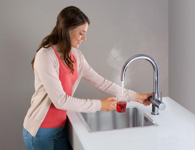 Waterbesparende kokend waterkraan hoe werkt het?