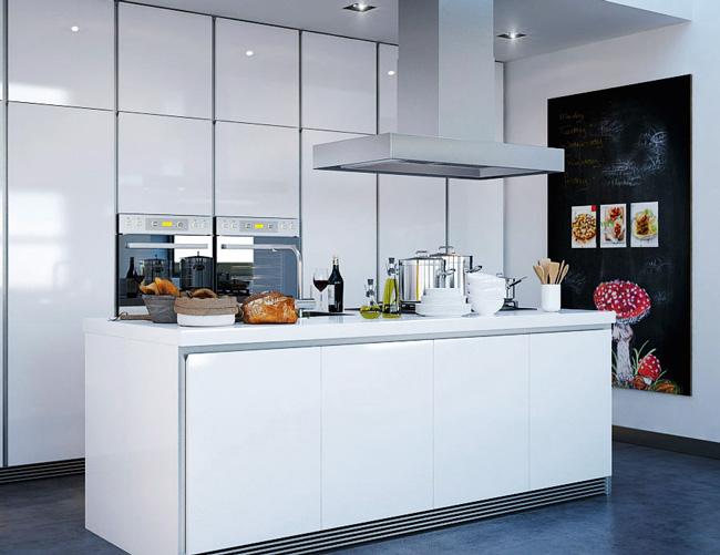 Klein Schiereiland Keuken : Een kookeiland: hoeveel ruimte heb je nodig?