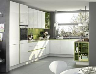 Open-keukenkastjes