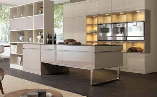 Hoe scheid je de keuken en de woonkamer