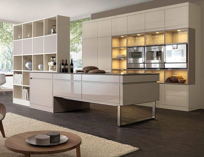 Hoe scheid je de keuken en woonkamer?