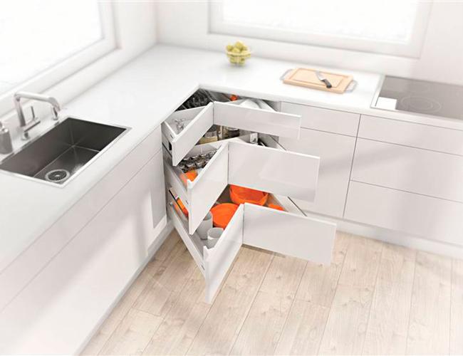 Ladesysteem Voor Keukenkastjes.10 Tips Voor De Hoeken Van Je Keuken