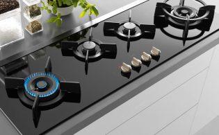 Gas-op-glas kookplaat