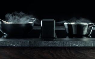 Remake van Novy Up_Side: werkbladafzuiging in combinatie met inductie, wok en teppan yaki